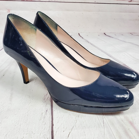 Vince Camuto Navy Blue Heels